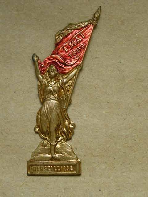 1. Mai-Abzeichen Marseillaise, 1899